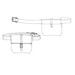 The Field Belt pattern