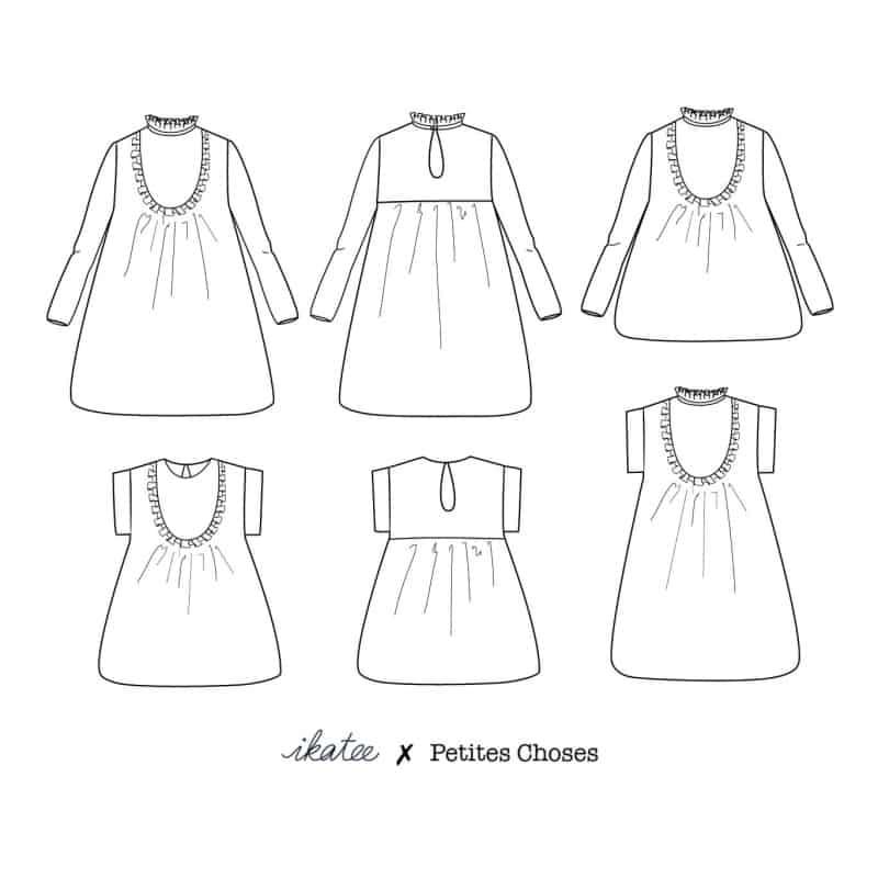 Ida Mum Blouse & Dress