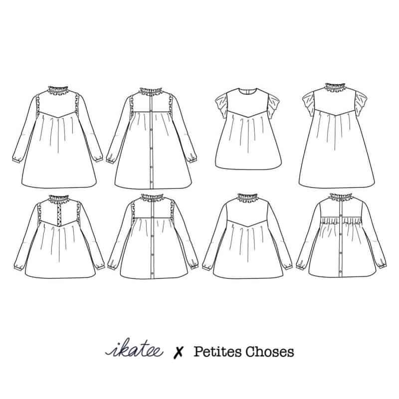 Louise Mum Dress & Blouse
