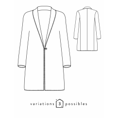 France Duval Stalla Coat