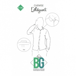 L'élégant - Sewing pattern