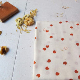 """Cosmic Chestnut"" Fabric"