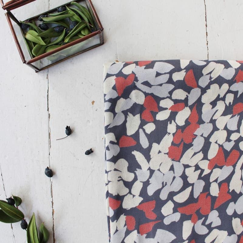 Blossom Coral Fabric