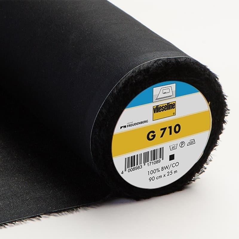 Vlieseline G710 - Noir x 10 cm