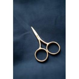 Ciseaux dorés - 9 cm