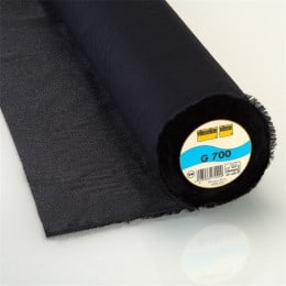 Vlieseline 700 - Black 10 cm