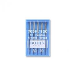 Aiguilles machine n°80-90 BOHIN - Fil métallisé