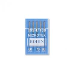 Sewing machine needles - n°60-70 et 80 BOHIN - Microtex