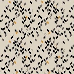Twist Mustard Fabric Remnants