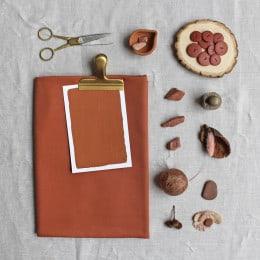 Tencel Chestnut Fabric