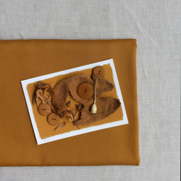 Tencel Ochre Fabric