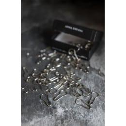 Epingles à nourrice - nickel brillant
