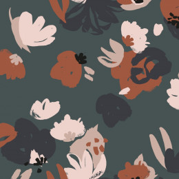 Posie Smokey Fabric