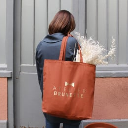 """Limited Edition Maxi Tote Bag """"Chestnut"""""""