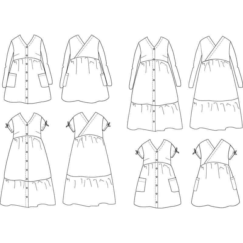Anna Mum Dress