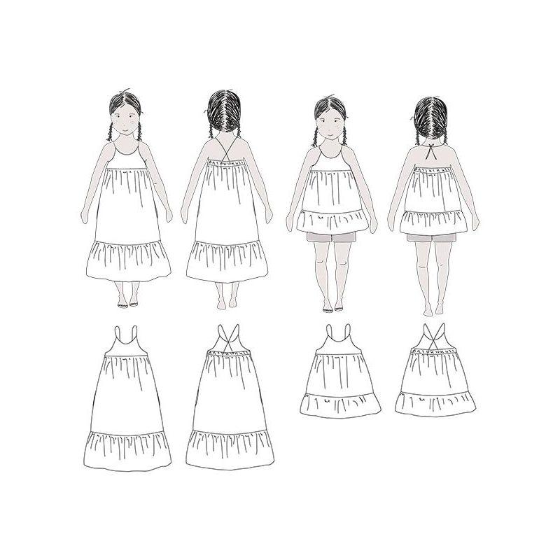 Léna Blouse & Dress (3-12 years)