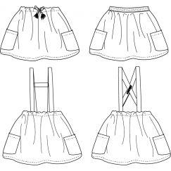 Maguerite Skirt 3-12 yo