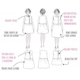 Elona Mum Blouse & Dress