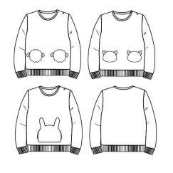 Sintra Sweatshirt 6 m-4 yo