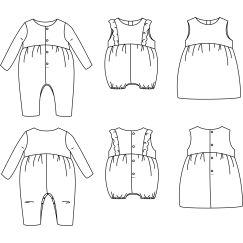 Madrid jumpsuit 6 m-4 yo