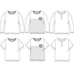 Marcel tshirt 3-12 yo