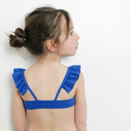 Girl swimsuit sewing pattern.