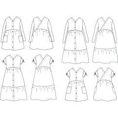 Anna Dress 3-12 yo