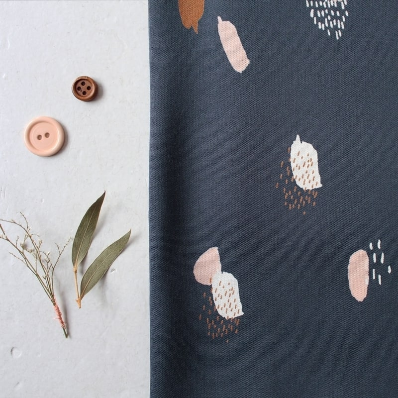 Moonstone Blue Fabric