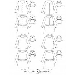 Virevolte blouse