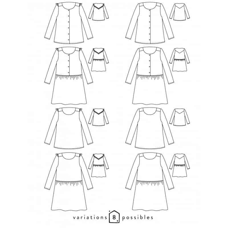 Vertige blouse