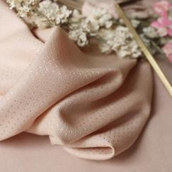 Dobby Blush Fabric