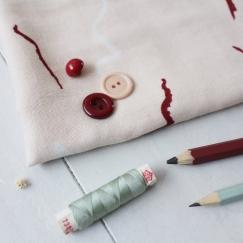 Graphite Rose Fabric