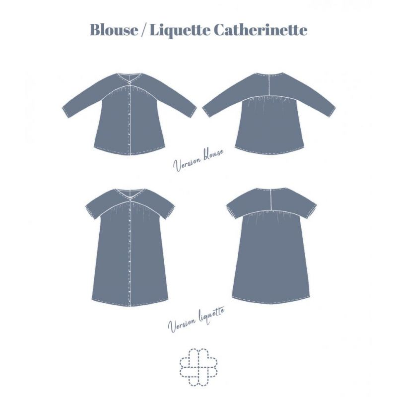 Catherinette Blouse