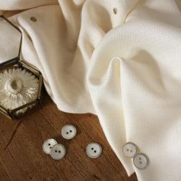 Crepe Off White Fabric