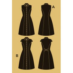 Bleuet Dress pattern