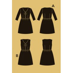 Sureau dress Pattern