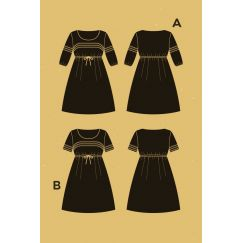 Aubepine Dress pattern