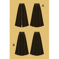 Fumeterre skirt Pattern