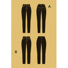 Safran pants pattern