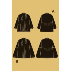 Nenuphar jacket pattern