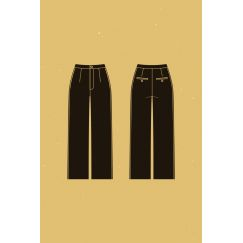 Narcisse pants pattern