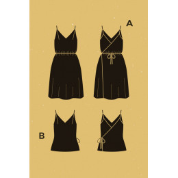 Pensée Dress pattern
