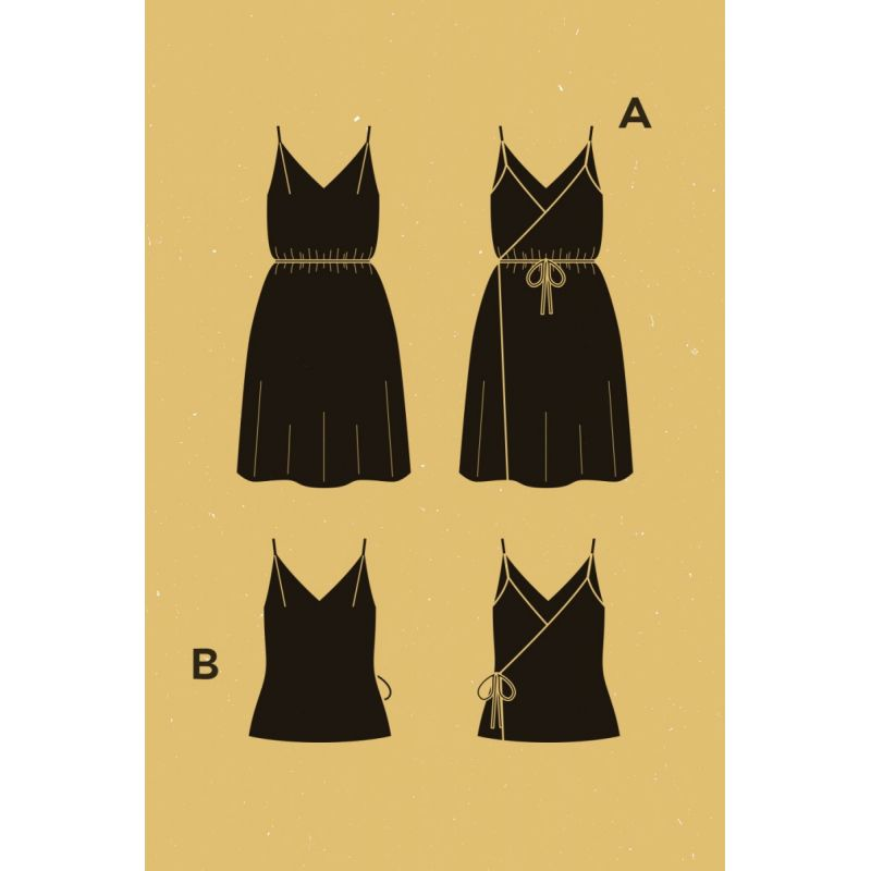 Pensée Dress