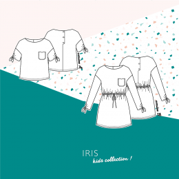 Top & Robe Iris Kids