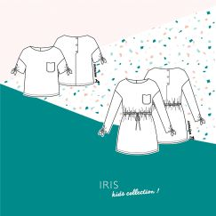 Top & Robe Iris Kids