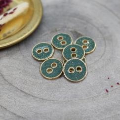 Joy Glitter Buttons - Cactus
