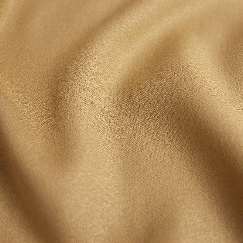 Crepe Mustard Fabric Remnants