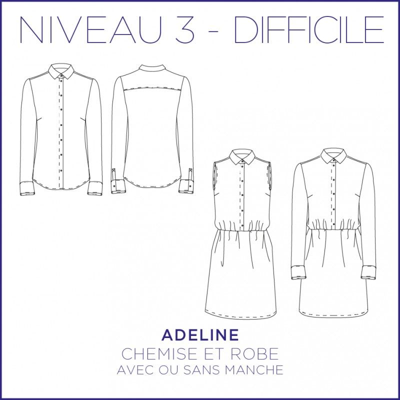 Adeline Shirt/Dress