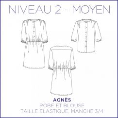 Agnes Dress/Blouse