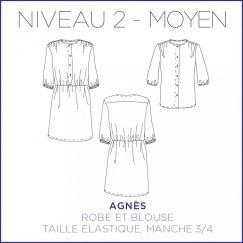 Robe/Blouse Agnès
